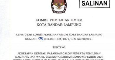 KPU Kembali Tetapkan Eva-Deddy Calon Walikota