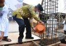 Herman HN Awali Pembangunan Dan Renovasi Masjid Besar Nurul Yaqin