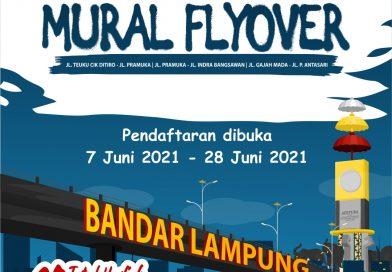 Lomba Desain Mural Flayover, HUT Ke 339 Pemkot Dibuka Untuk Umum