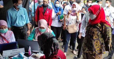 Pemkot Bandarlampung Kembali Menggelar Vaksinasi Secara Massal