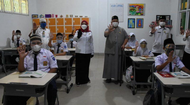 Walikota Kukuhkan Satgas Covid-19 di Sekolah