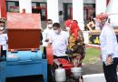 Pemkot Bandarlampung Menerima 4 Unit Mesin Pencacah Sampah