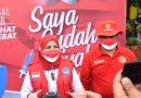 Bin Lampung dan Pemkot Vaksin 5.500 Pelajar di Bandar Lampung